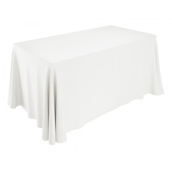 Скатерть прямоугольная 2,25 x 3,2 м белая